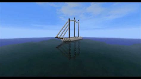 how to make a sailboat in minecraft minecraft quot sailboat quot youtube