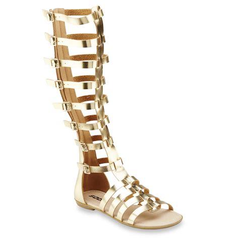 gold gladiator sandal soda s willow gold gladiator sandal shoes