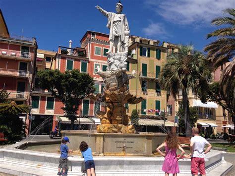 colombo giardini santa margherita restaura la fontana di colombo dei