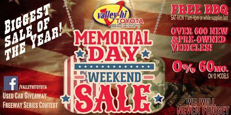 memorial day toyota deals valle hi toyota scion memorial day sale victor valley
