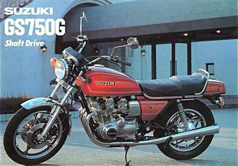 Suzuki Japan Website Suzuki Gs750g Brochures