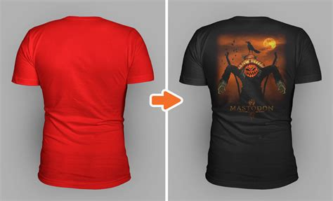 tutorial how to use simplified t shirt templates for photoshop and