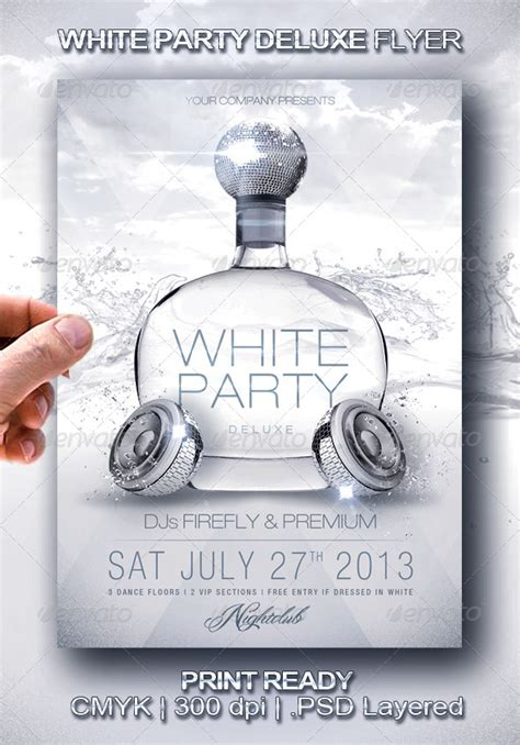 white flyer template free white deluxe flyer flyer template flyer and