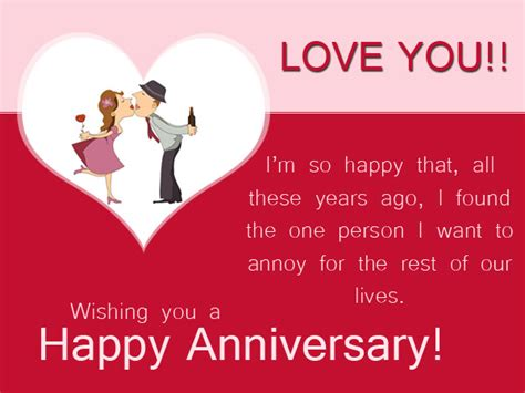 One Year Wedding Anniversary Card Sayings by Anniversary Wishes Happy Anniversary Messages
