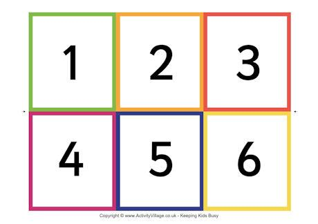 printable flash cards numbers 6 best images of printable number cards 0 20 free
