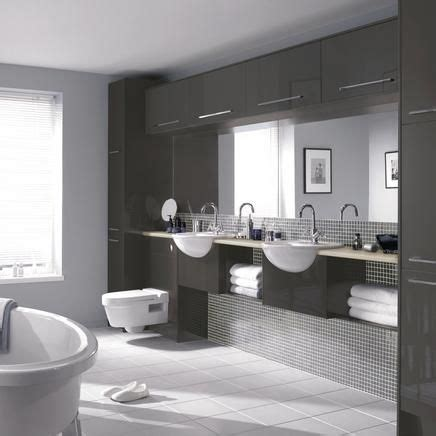 Howdens Bathroom Furniture Greenwich Gloss Graphite Bathrooms Pinterest Grey Joinery And Cabinets