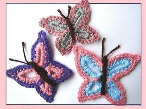 crochet butterfly knit crochet and fiber addict pinterest easy butterfly applique crochet pattern by ashton11