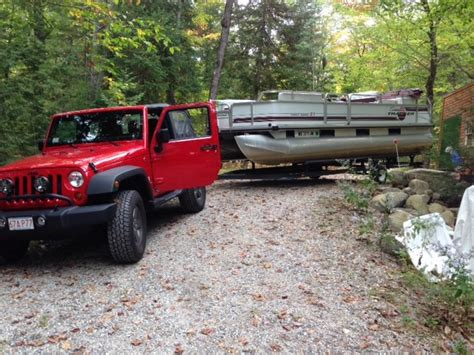 fishing boat vs pontoon towing a pontoon vs a standard boat the hull truth