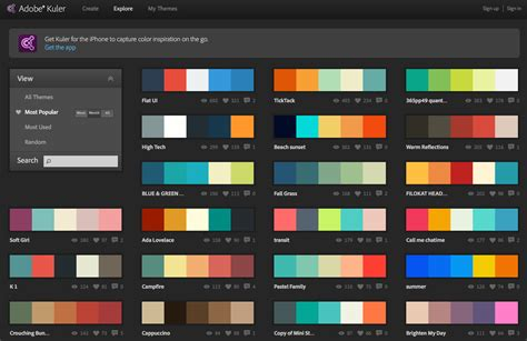 idea color schemes new iphone app color schemes awesome ideas 10382