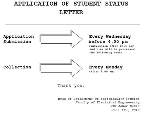 application letter for computer engineering student application for student status letter official web