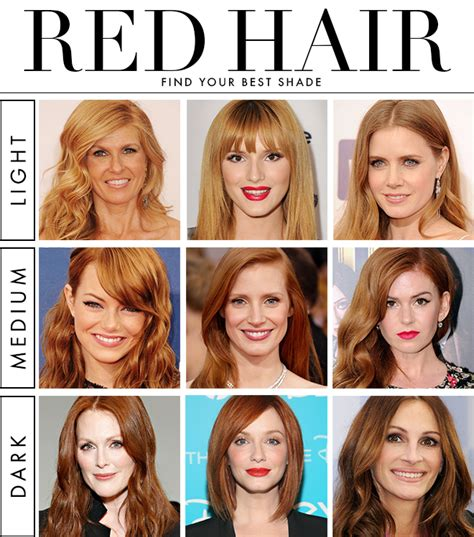 shades of red hair 9 hot shades of red you wish you had
