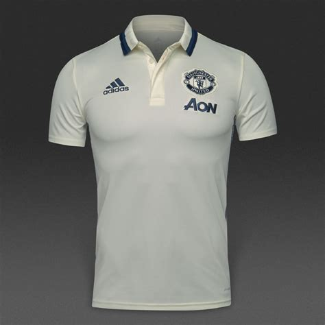Polo Shirt Manchester United 036 adidas manchester united 16 17 polo shirt ap1015 polo shirts chalk white