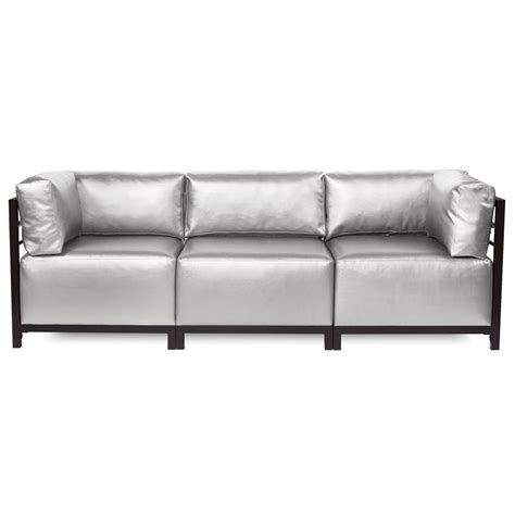 Silver Sectional Sofa Silver Couches Home Design