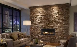 Installing A Gas Fireplace On An Interior Wall Decoracao Para Parede Da Sala Pedra Decorar Dicas