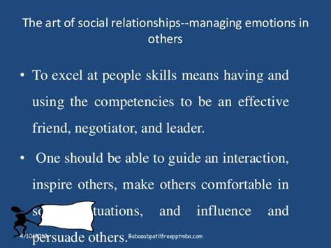 Mba Means Married But Available by Emotional Intelligence Sets Apart Leader Ppt On Hrm Mba