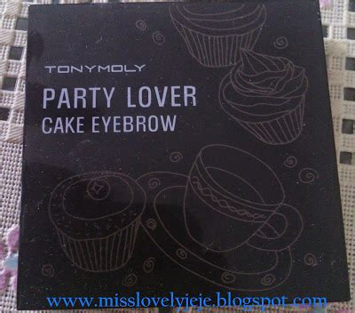 Harga Tony Moly Eyebrow review tony moly lover cake eyebrow
