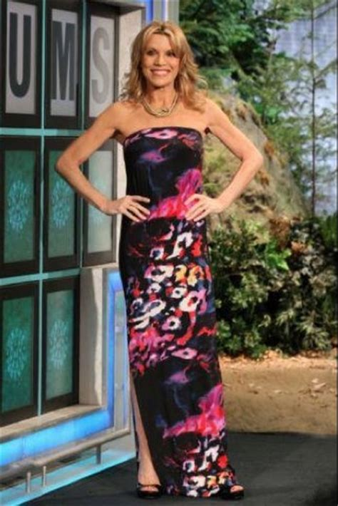 Vanna White Wardrobe by Vanna White In A Cleopatra Dress In Navy Galaxy Spotted