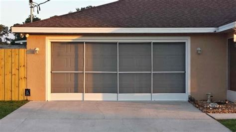 Garage Door Screen Ocala Florida Photo 13 Pessimizma Garage Garage Door Screen Door