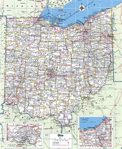 ohio map by county county map of ohio usa wall hd 2018