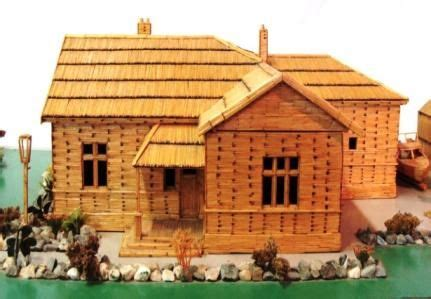 toothpick house wyndham house made out of matchsticks match toothpicks