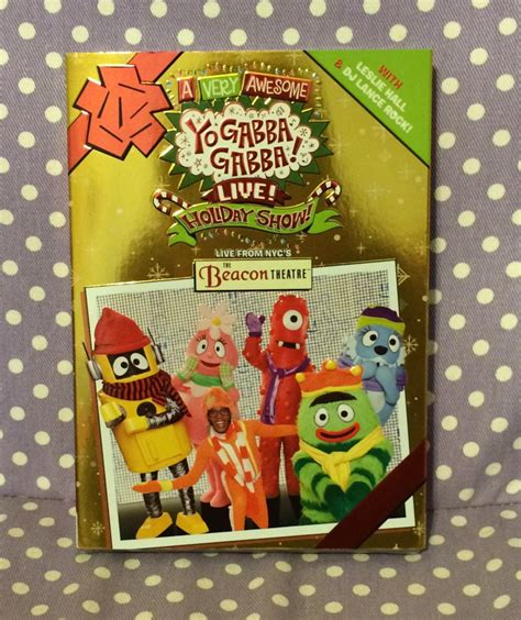 gabba gabba live to with family during the holidays
