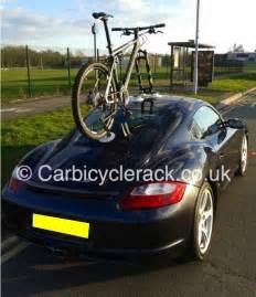 Porsche Bike Rack Porsche Cayman Bike Rack Innovative Design No Bolts No