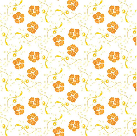 pattern flowers vector free vector ornamental floral pattern free vector