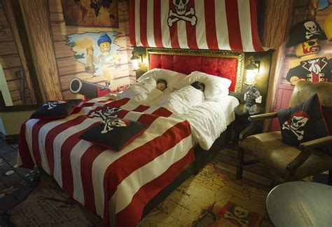 pirate themed room explore the new legoland hotel