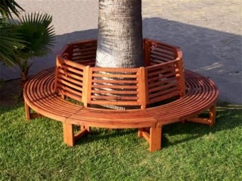 bench around tree trunk de 25 bedste id 233 er inden for deck around trees p 229 pinterest