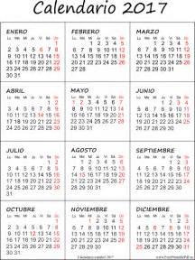 Calendario Diciembre 2017 Pdf Calendario 2017 De Impresi 243 N Espa 241 Ol Imprimir El Pdf Gratis
