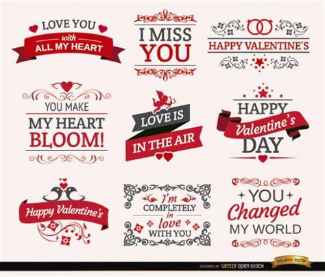 imagenes vectores san valentin vectores gratis para crear tarjetas de san valentin