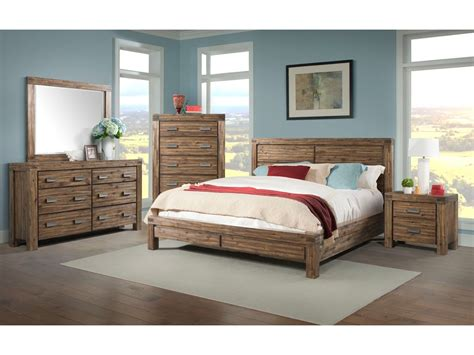 acacia bedroom furniture 6pc king bedroom set acacia solid w wood moldings