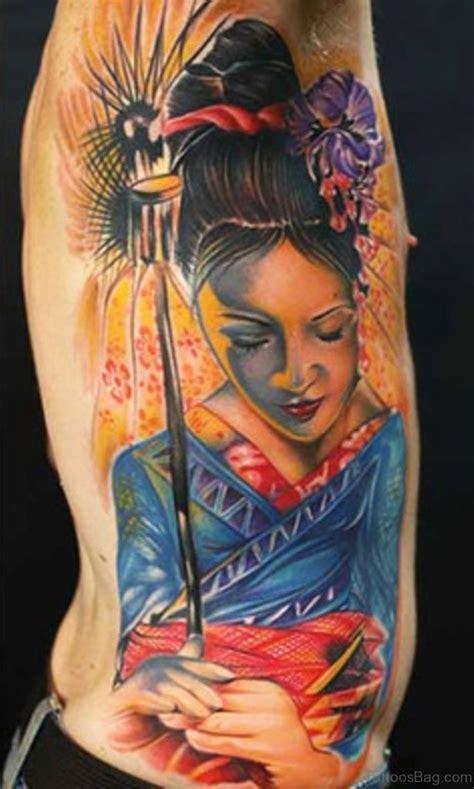 geisha tattoo on side 50 outstanding geisha tattoo for rib