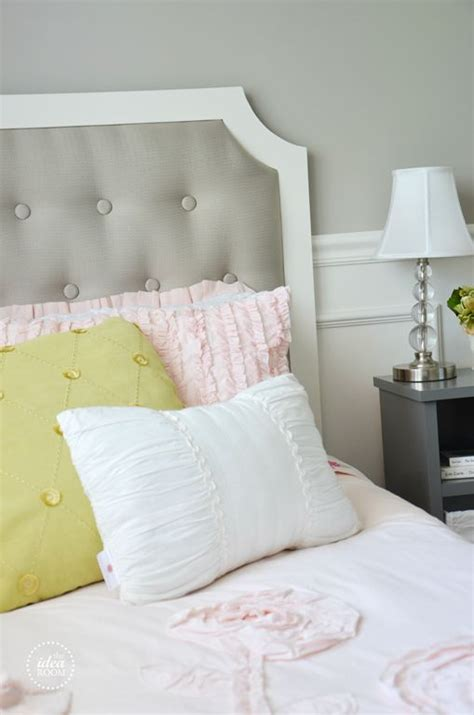 diy bedroom headboards diy tufted headboard furniture pinterest