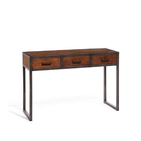 25 best ideas about industrial console tables on