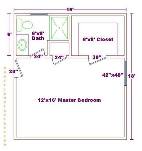 master bedroom bath floor plans master bedroom 12x16 floor plan with 6x8 bath and walk in closet master bedroom design