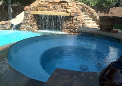austin residential backyard spas new wave pools austin