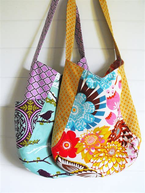 Handmade Bag Pattern - fussy cut 241 tote review travel handmade
