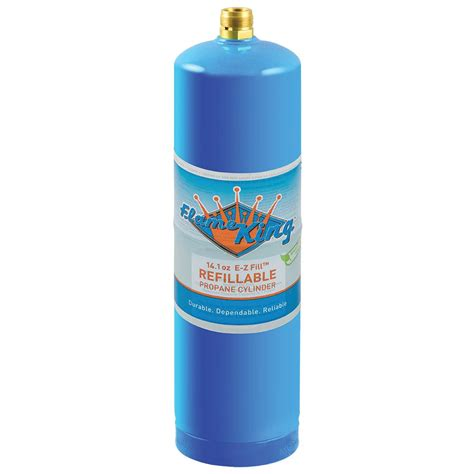 king 1 lb refillable propane cylinder 14 1 oz
