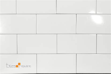 fliese 90 x 200 white gloss 100x200 subway wall tiles republic