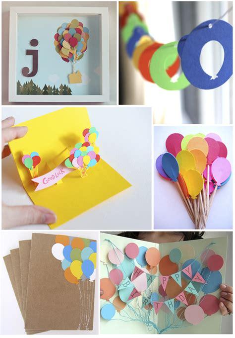 5 ideas para decorar fiestas con papel ideas para decorar con globos de fieltro y de papel
