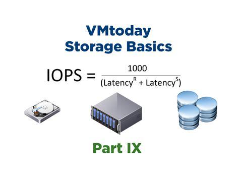 storage visio storage basics part ix alternate iops formula vmtoday