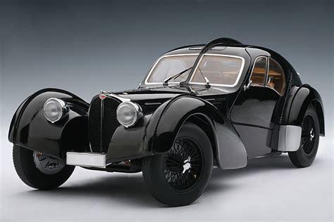 AUTOart: 1938 Bugatti 57SC Atlantic   Black w/ Disc Wheels