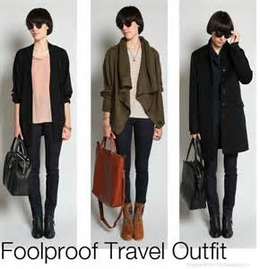 clothes for airplane travel