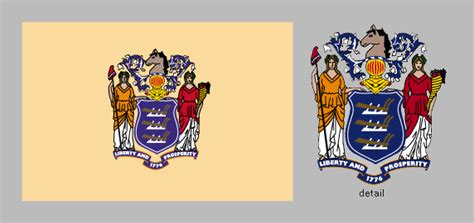 new jersey state colors flag of new jersey united states state flag britannica
