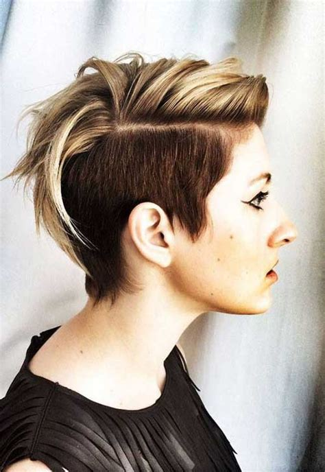 short hairstyles with dye outstanding color options for short haircuts the best