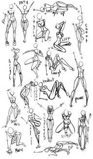female power poses anatomy 1 by oryxpixie on deviantart