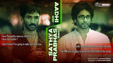 actor aadhi brother an exclusive interview with aadhi and sathya prabhas