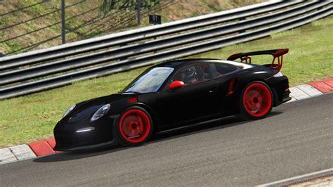 black porsche gt3 black porsche gt3 rs racedepartment