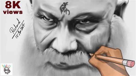 Bahubali 1 Sketches by Bahubali 2 Kattappa Speed Drawing